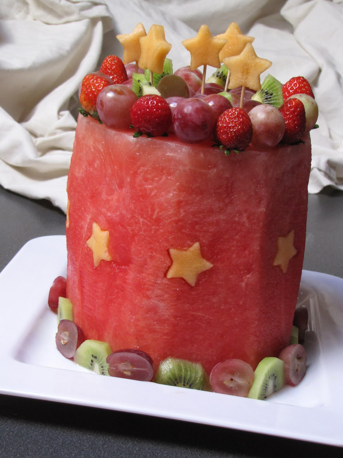 all fruit birthday cake -#main