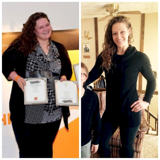 Increíbles transformaciones luego de bajar de peso