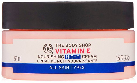 Skincare untuk kulit kering The Body Shop ® Vitamin E Nourishing Night Cream