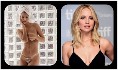 Emily Ratajkowski y Jennifer Lawrence... bah, no tienen morbo