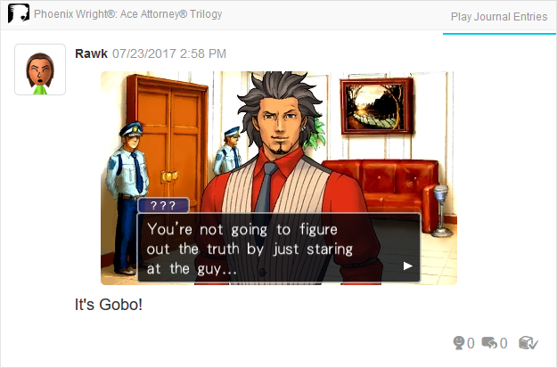 Phoenix Wright Ace Attorney Trials and Tribulations Diego Armando introduction