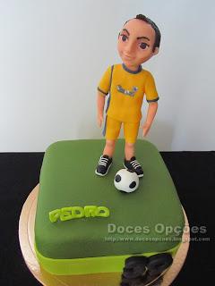 bolo futebol pinela bragança