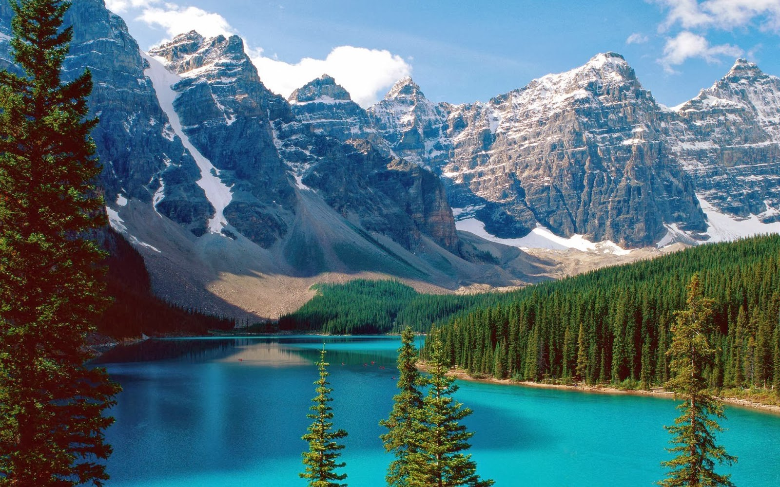 Wild Rose Country of Alberta in the Canadian Rockies