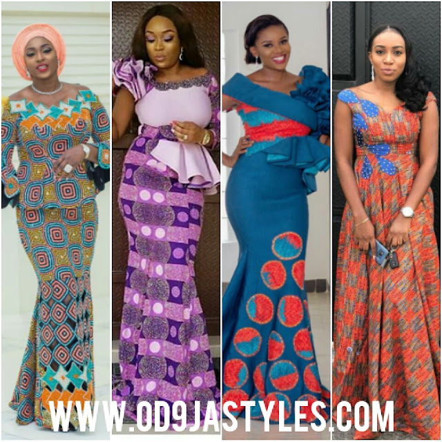 Latest Ankara Outfits For Ladies   Ankara Long Gown Designs   Latest Ankara Trends