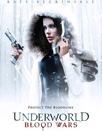Poster Of Underworld: Blood Wars 2016 English 700MB HDCAM x264 Free Download Watch Online downloadhub.net