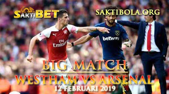Prediksi Sakti Taruhan bola West Ham vs Arsenal 12 Januari 2019