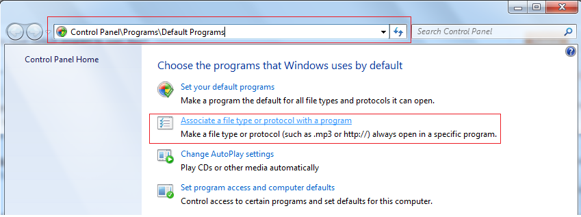 Steps to change default strat with program