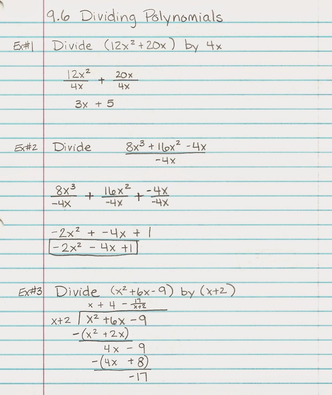 Algebra Alerts Algebra 1 And 2 Algebra 1 Lesson 9 6