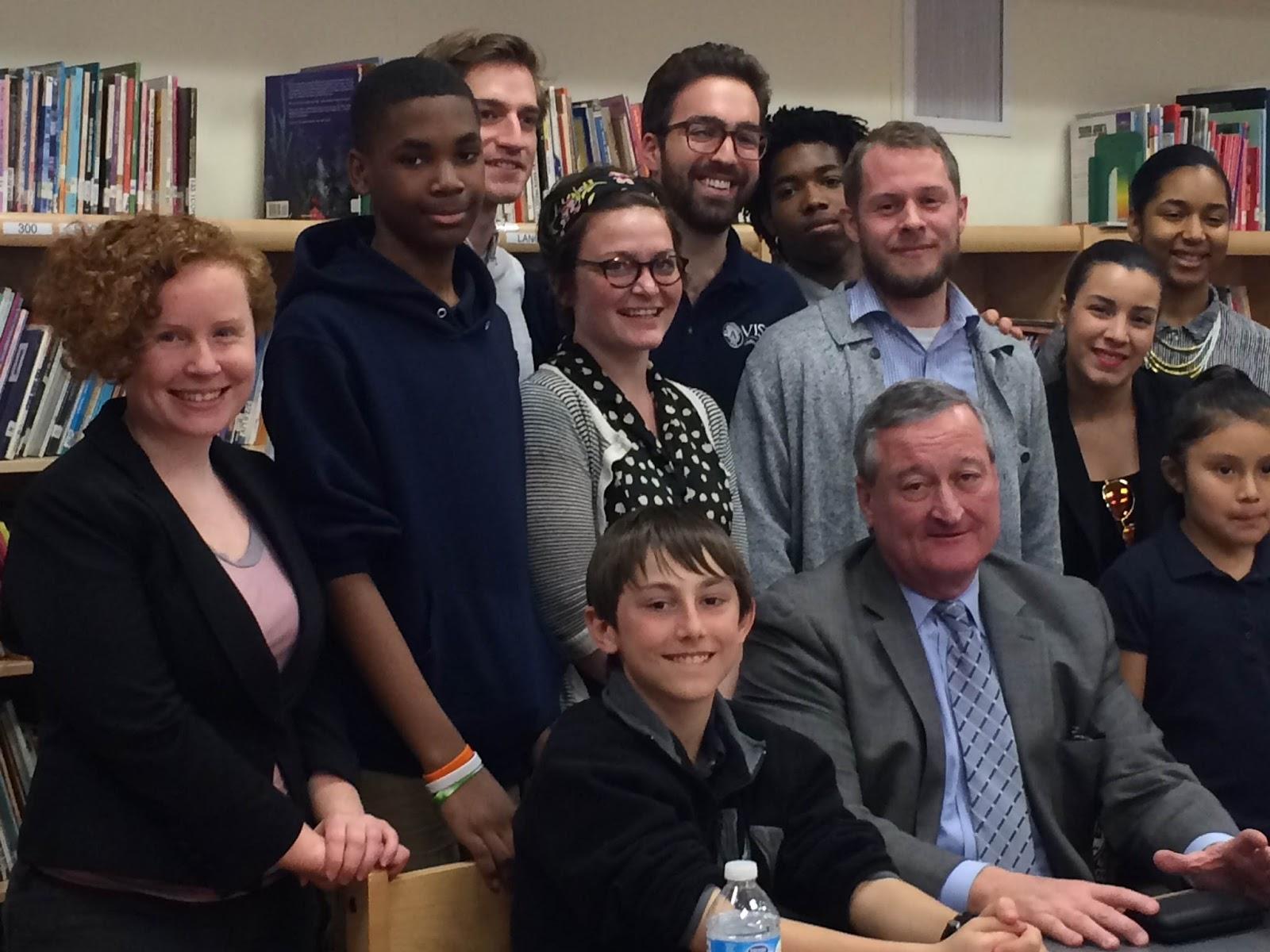 Mayor Kenney Comes to Southwark! | Southwark School K-8