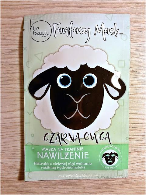 BeBeauty Care, Fantasy Mask, Maska na tkaninie nawilżenie, Czarna Owca