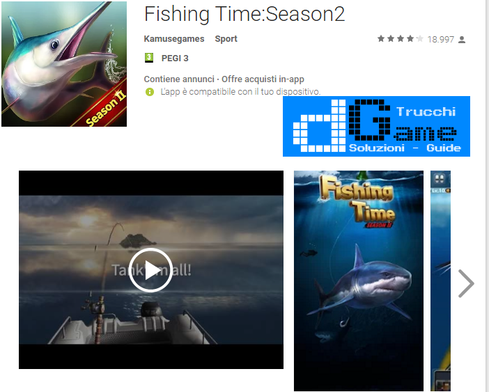 Trucchi Fishing Time:Season2 Mod Apk Android 0.0.36
