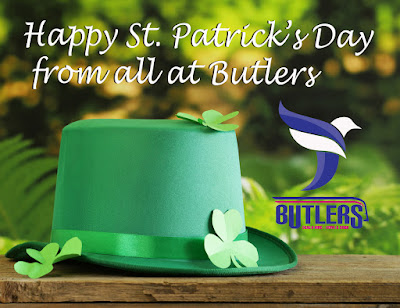Happy St Patrick's Day from all at Butlers.