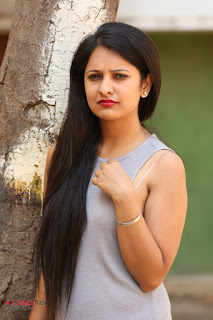 Actress Nikita Bisht Latest Picture Gallery in Long Dress 0039