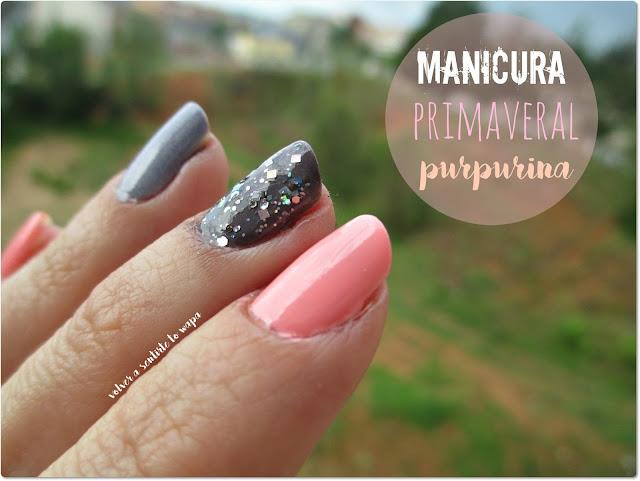Manicura de Primavera con Purpurina - Masglo - Isadora - Essence