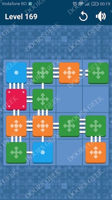 Connect Me - Logic Puzzle Level 169 Solution, Cheats, Walkthrough for android, iphone, ipad and ipod
