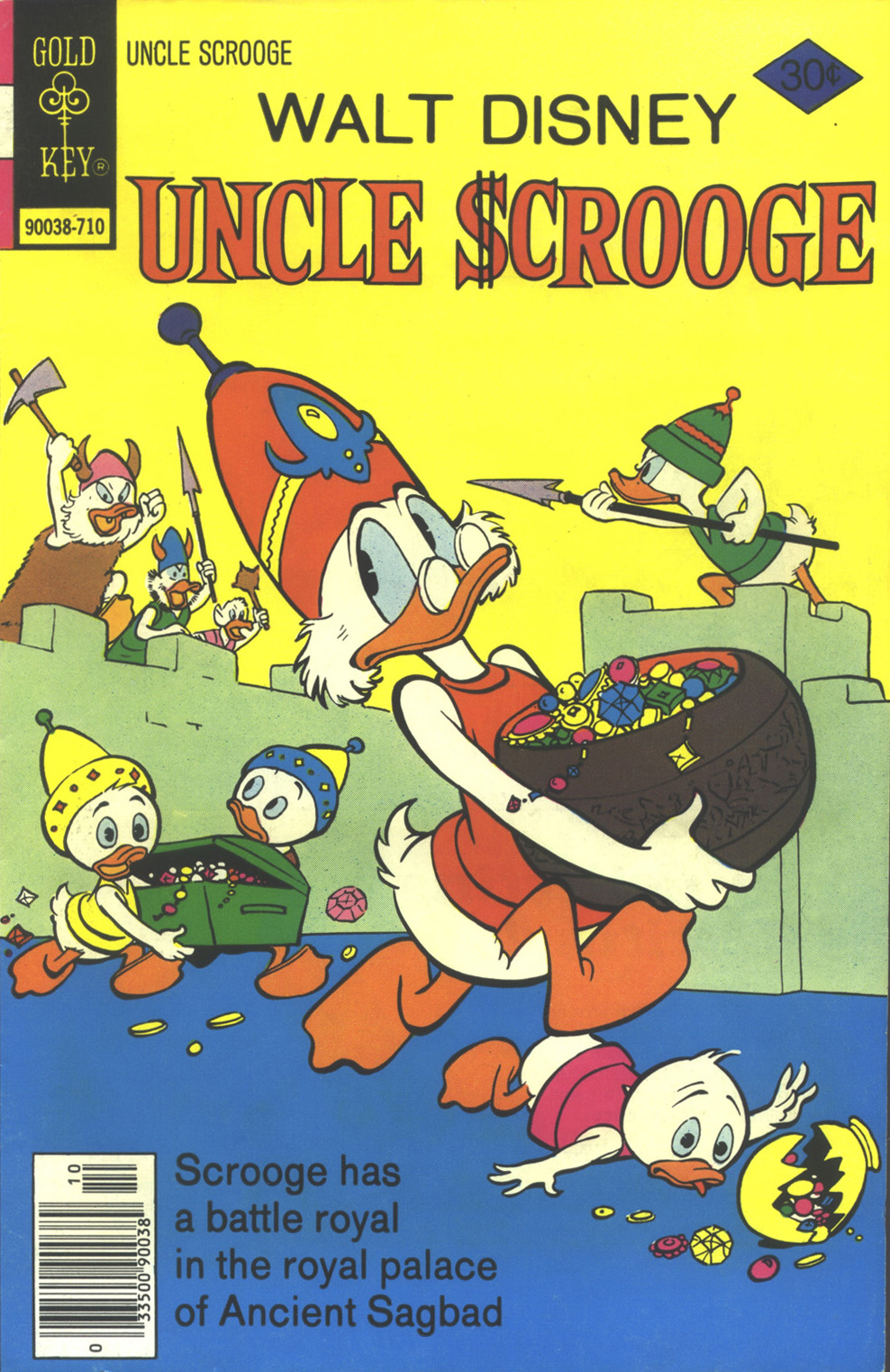 Read online Uncle Scrooge (1953) comic -  Issue #145 - 1