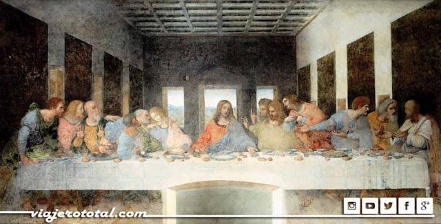 La última cena de Leonardo Da Vinci, Milán