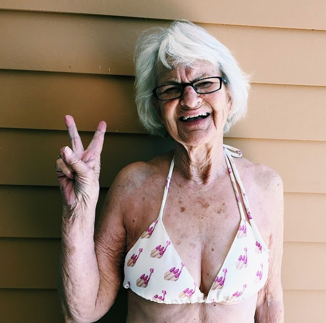 Baddie Winkle. The 88 yr old social media star