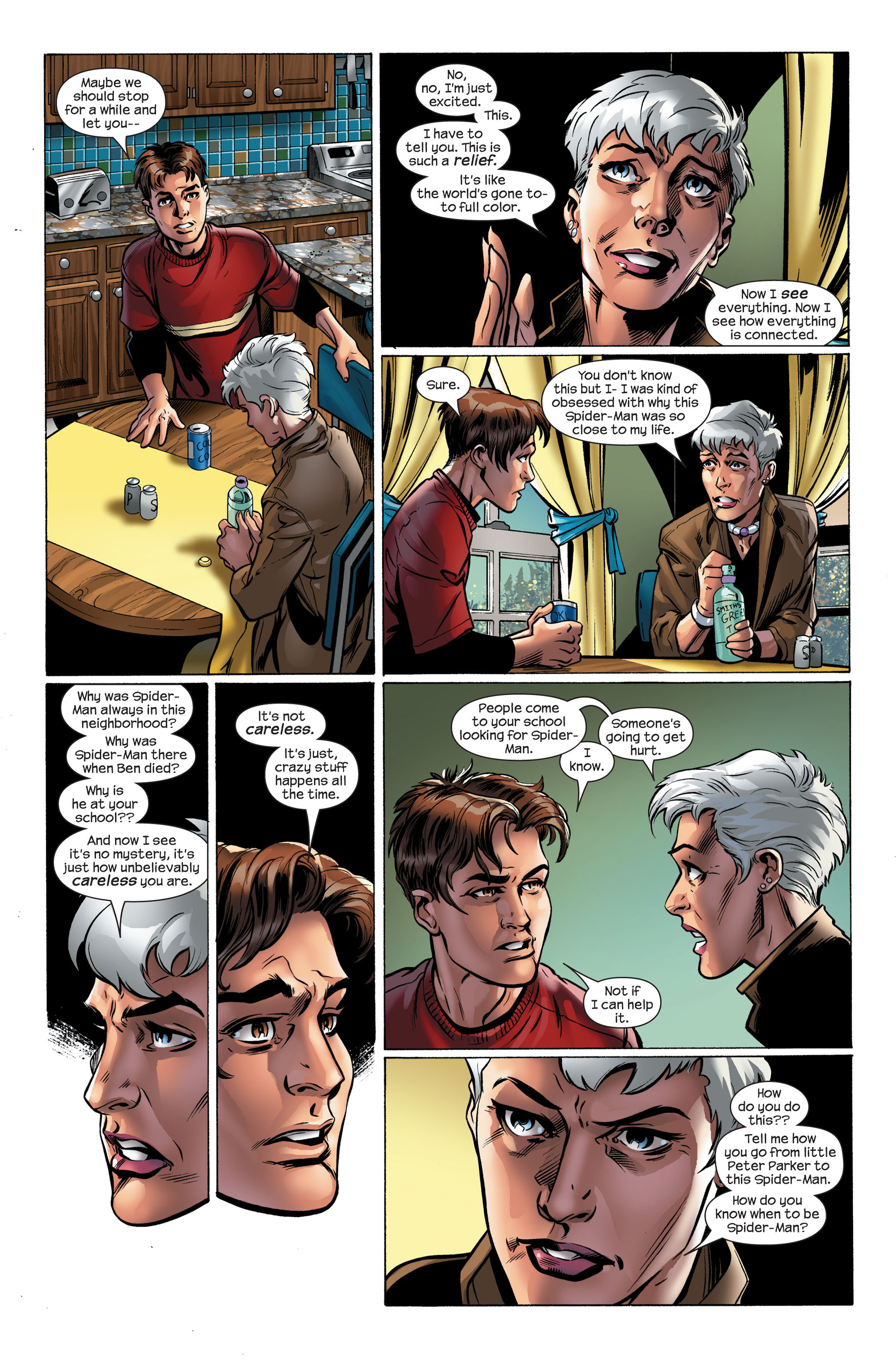 Read online Ultimate Spider-Man (2000) comic -  Issue #111 - 9