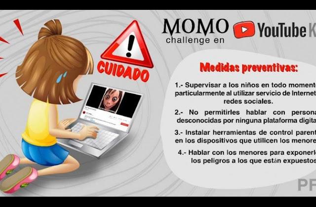 CICPC INFORMA  Padres y representantes. El Momo Challenge NO ES UN JUEGO.