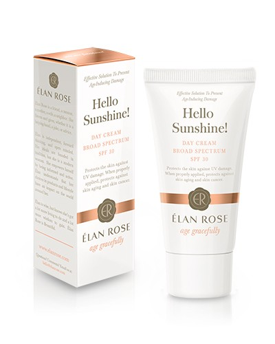 Hello Sunshine! Elan Rose Skin Products