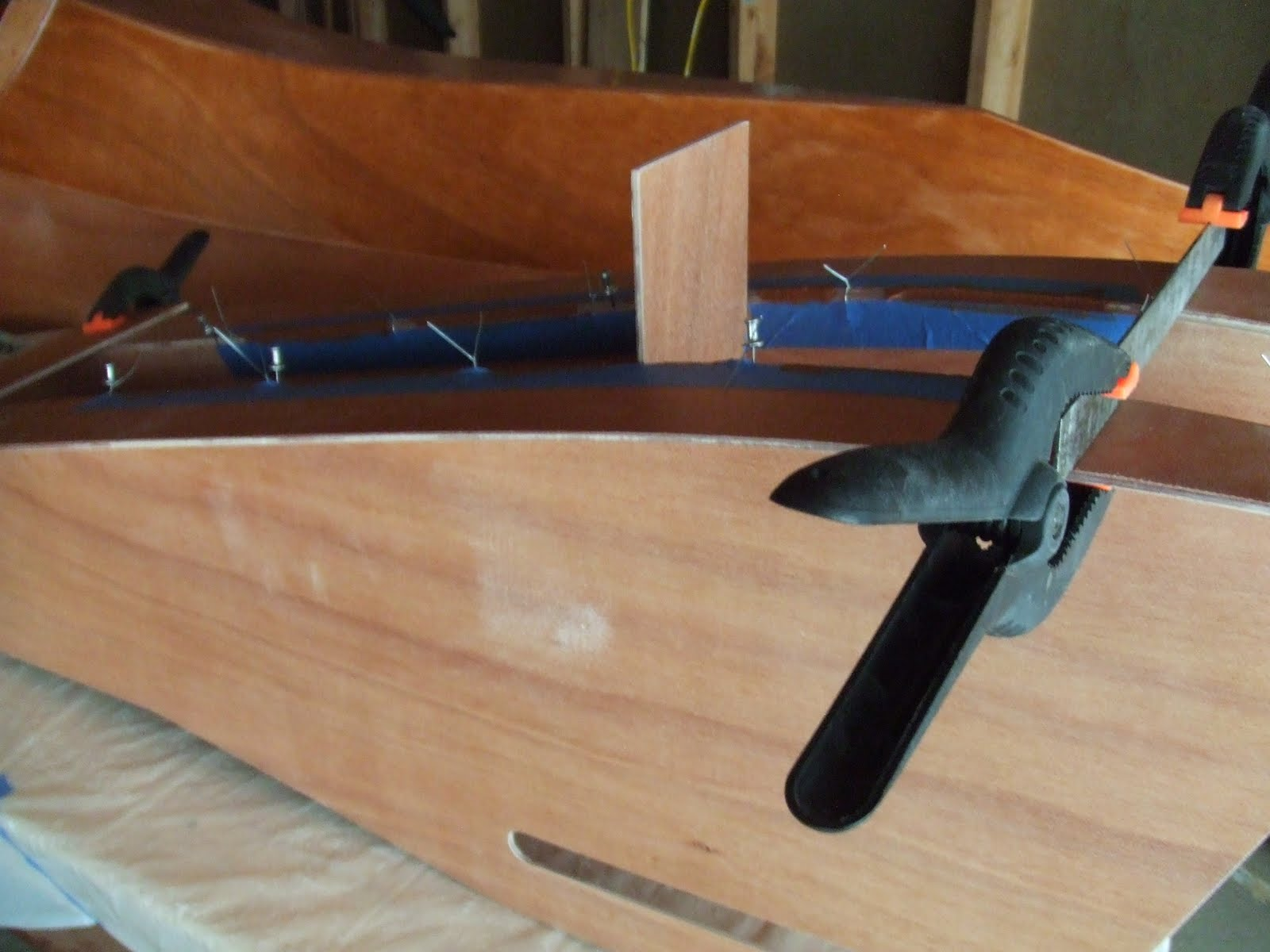 Crafting A Human Powered Boat Forward Deck And Gearbox Mount