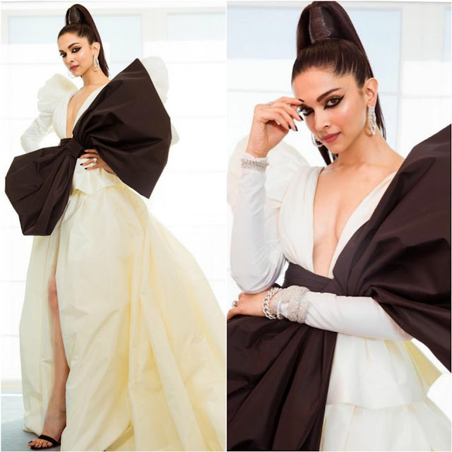 Deepika Padukone Wears Peter Dundas at Cannes 2019