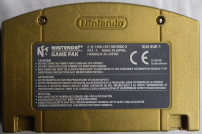 The Legend of Zelda - Majora's Mask - Cartucho detrás