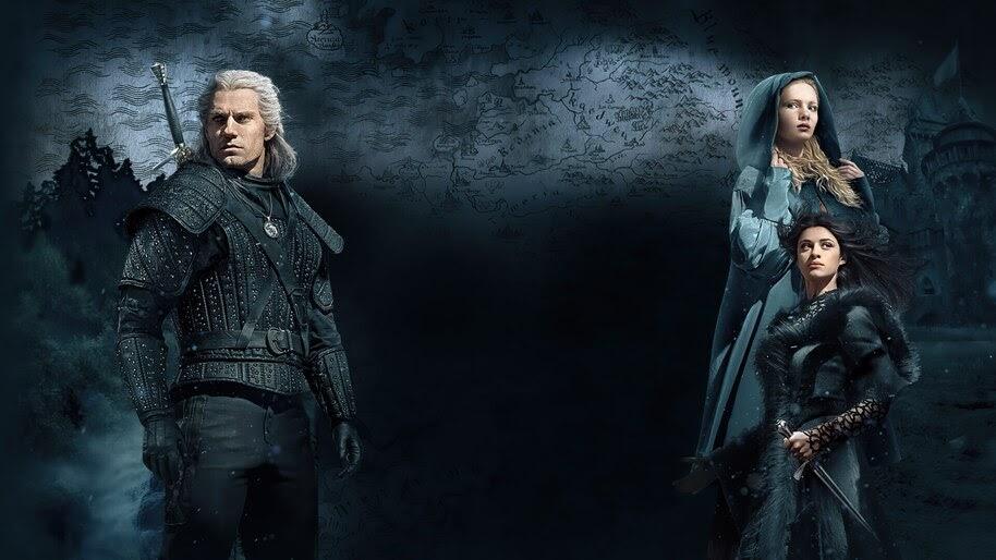 The Witcher, Geralt, Yennefer, Ciri, Netflix, 4K, #7.1000