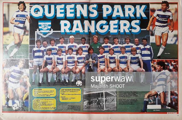 TEAM QUEENS PARK RANGERS 1984