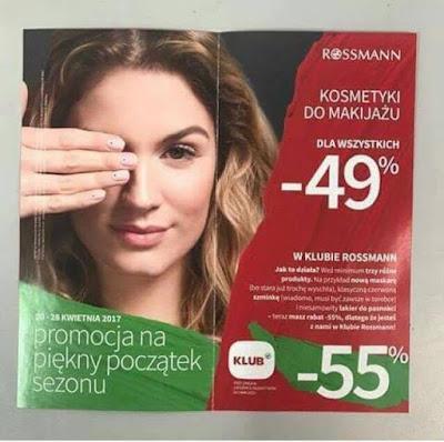 -49% w Rossmannie - twarz