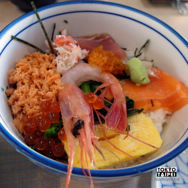 【朝市食堂二番館】函館朝市裡的便宜丼飯店 多款海鮮丼只要¥500