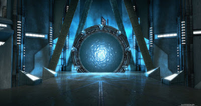 They open stargates when they smash particles of gold together at the speed of light that is why gold is a fuel!