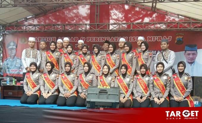 Gema Isro' Mi'raj Berkumandang di Mapolres Pati, Wujud dari Pemilu Damai