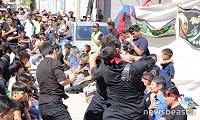 Το αυτομαστίγωμα των σιιτών μουσουλμάνων στον Πειραιά (φωτο - βιντεο)