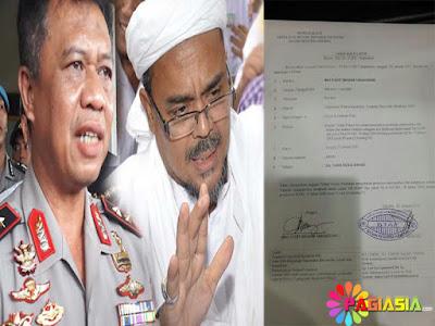 LAGI !! Habib Rizieq Dilaporkan ke Polisi Atas Kasus Dugaan Ujaran Kebencian di Depan Publik