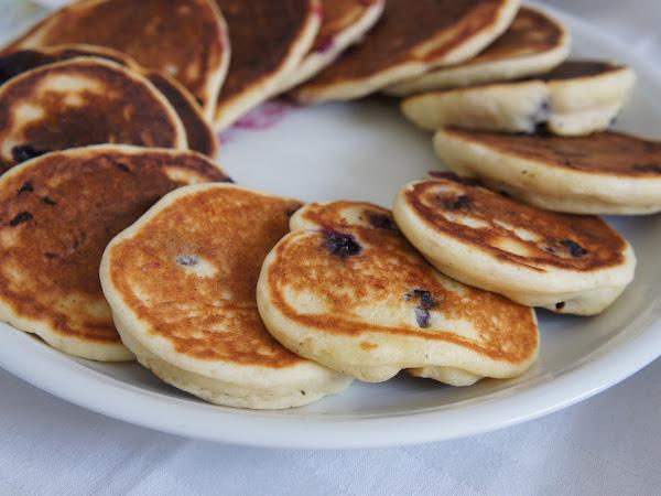 REZEPT: glutenfreie Blueberry Pancakes