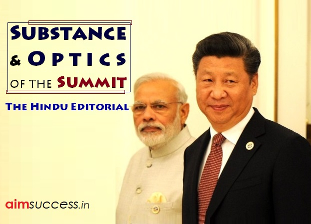 Substance and Optics of the Summit: The Hindu Editorial