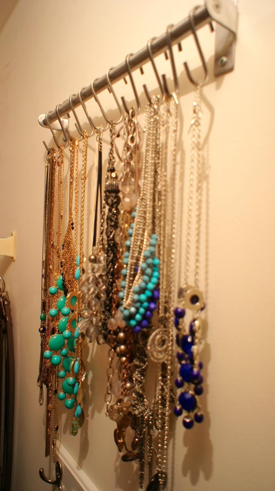 Food. Fashion. Home.: Necklace Organizer System