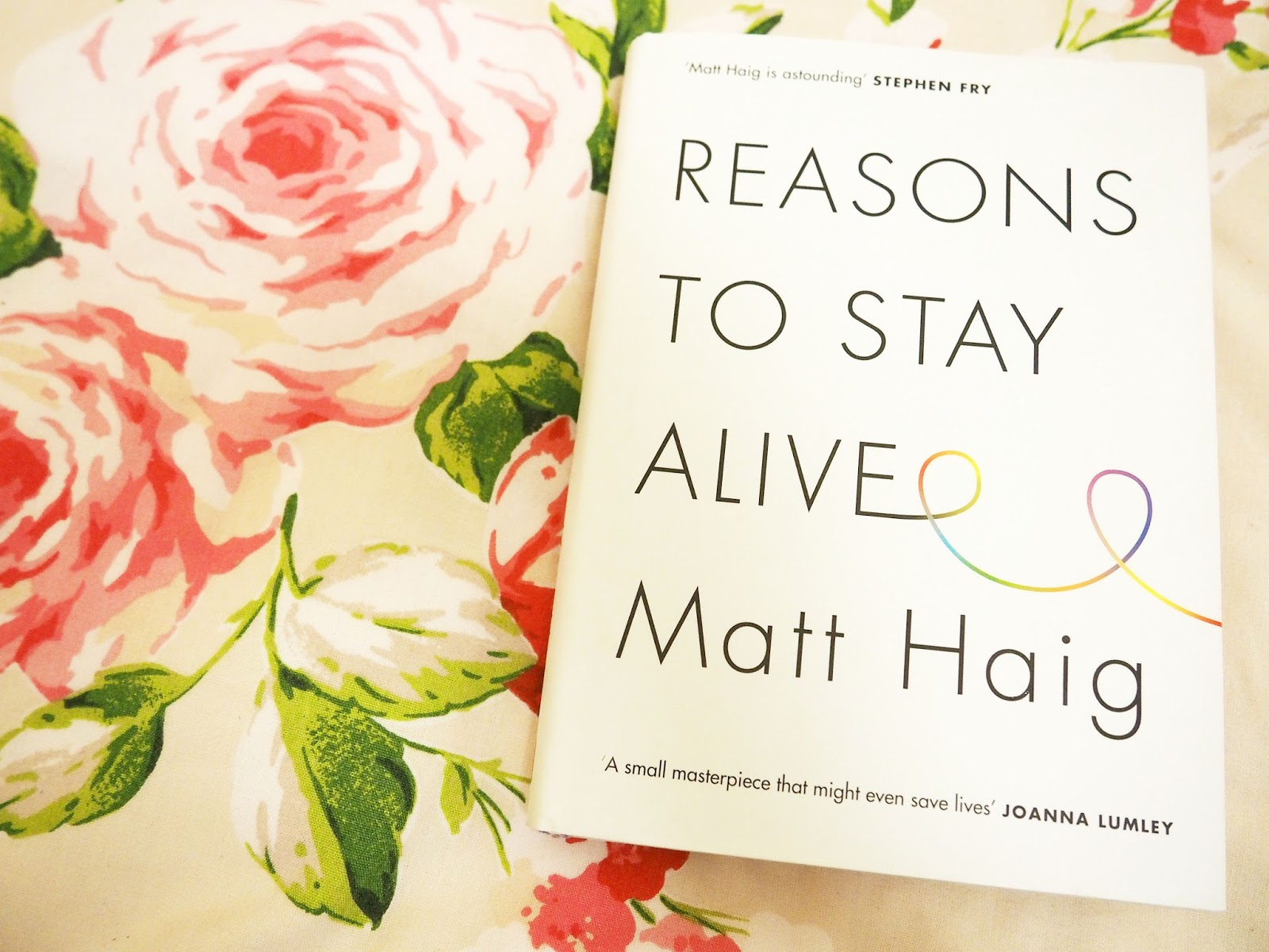 Reasons To Stay Alive Book Matt Haig
