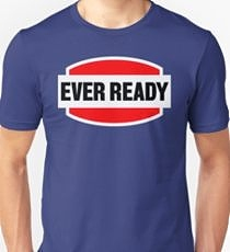 Ever Ready Batteries Logo T-shirt