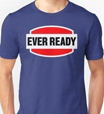Ever Ready Batteries Logo T-shirt