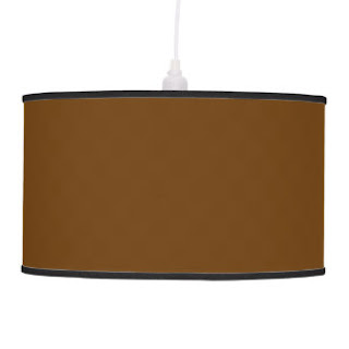 Brown pendant lamp