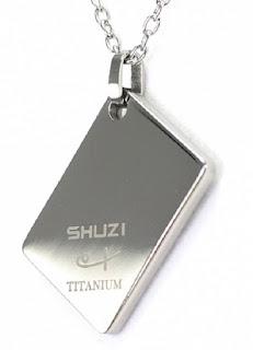 Shuzi Vitality Cross Shaped Stainless Steel Fashion Pendant