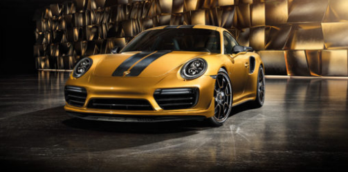 2018 Porsche 911 Turbo S Design