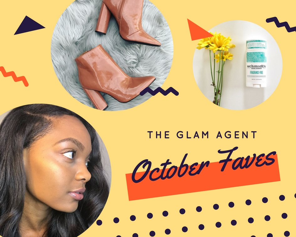 October Faves, Clinique Stay Matte, Ankle Boots, Schmidt's Naturals | The Glam Agent