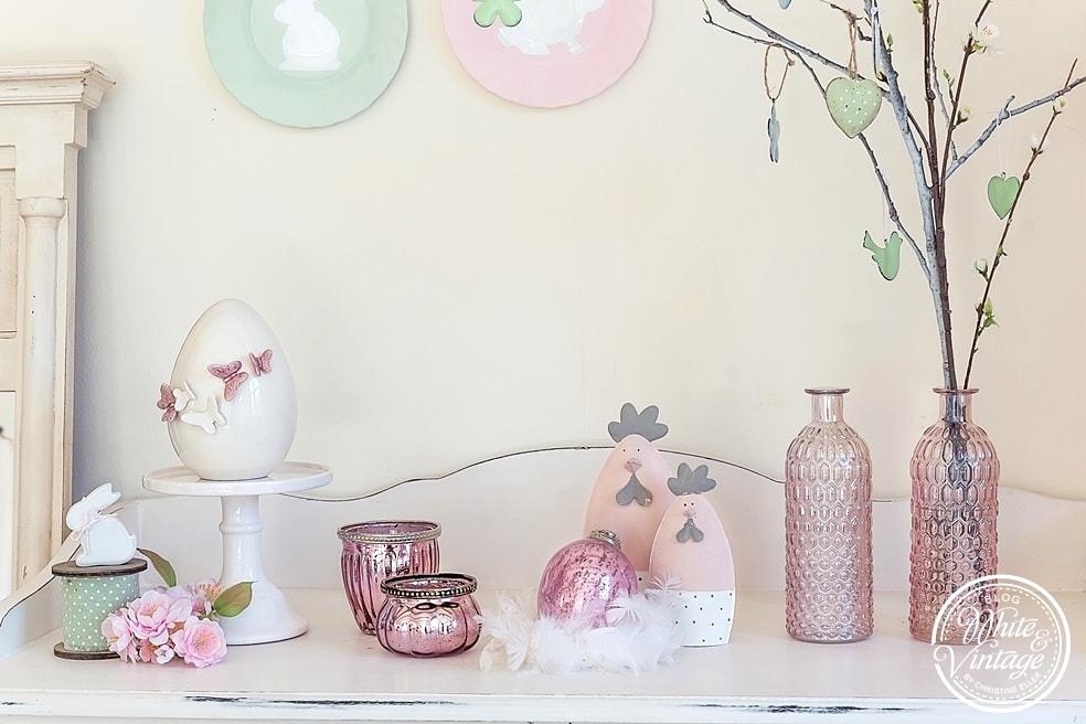 DIY Osterdeko: Wandteller selber machen