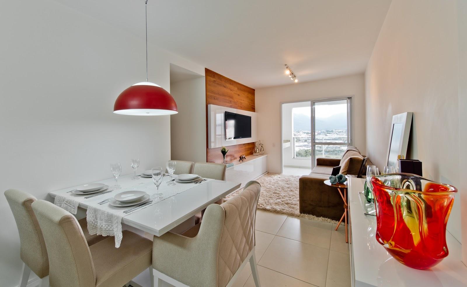 Construindo Minha Casa Clean Decora O De Um Apartamento De 70 M  -> Lustre Para Sala De Apartamento