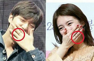 Lee Min Ho & Suzy Pakai Couple Ring Karena Dikabarkan Putus