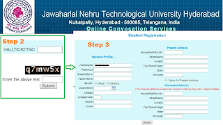 JNTUH OD Apply Process
